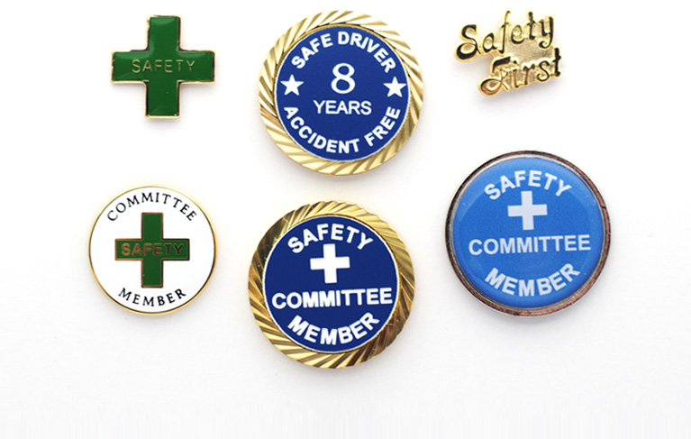 SAFETY AWARD LAPEL PINS